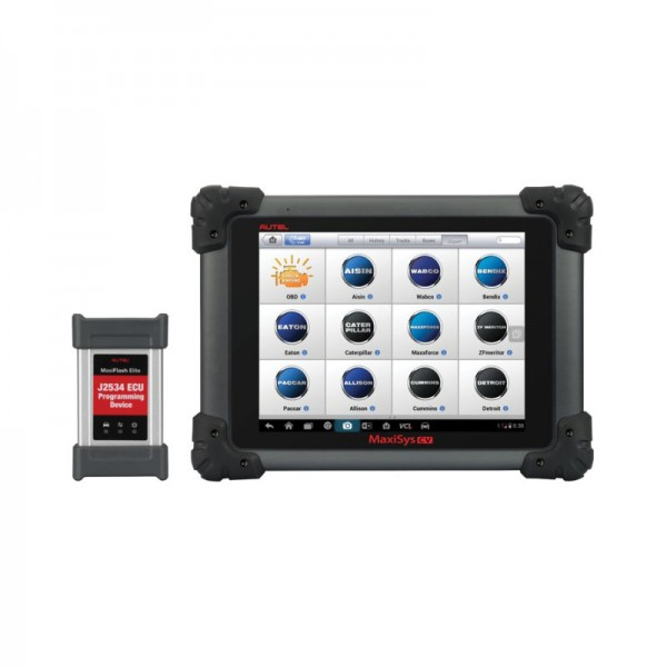 autel maxisys cv commercial vehicles diagnostic tool for heavy duty