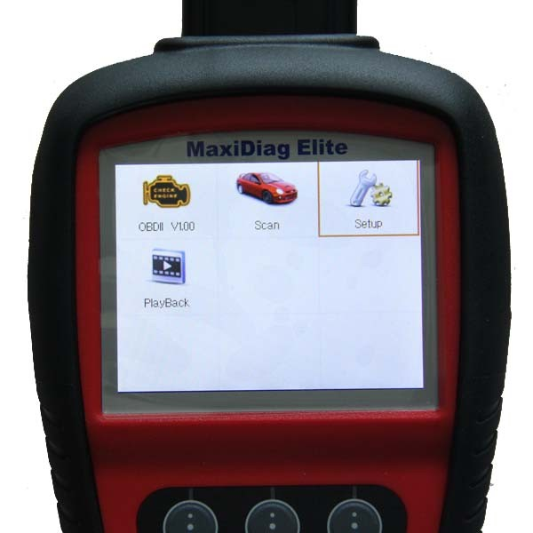 18AUTEL MaxiDiag Elite MD8system All System DS